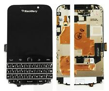 Original Blackberry Q20 Pantalla Full LCD Pantalla Táctil Digitalizador Marco negro