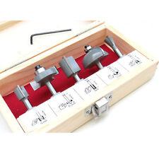 Fräsersatz HM 5 tgl Schaft 6 mm Nutfräser Profilfräser für Oberfräse Holzfräser
