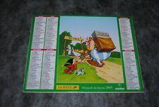 (B) asterix calendrier almanach la poste france 2005