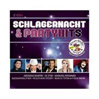 SCHLAGERNACHT & PARTYHITS 2 (DJ ÖTZI/WOLFGANG PETRY/MICHAEL WENDLER/+) 2 CD NEU