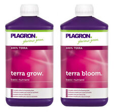 Plagron Terra Grow and Bloom Nutrient Control Soil Grow 1L 5L 10L