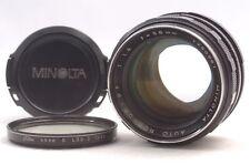 @ Ship in 24 Hrs! @ Discount! @ Minolta Auto Rokkor-PF 58mm f1.4 MF Prime Lens