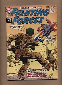 Our Fighting Forces 68 (VGF) Gunner Sarge Pooch 1962 DC Comics war (c#15774)