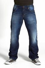 MENS LOOSE FIT JEANS IN MID & DARK WASH (BRENTFORD) CLEARANCE!!! RRP £39.99