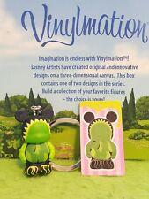 """Disney Vinylmation 1.5"""" Park Set 1 Junior Jr Keychain w/ Sticker Venus Fly Trap"""