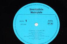 CATERINA VALENTE '86 - LP Musterplatte Promo VEB Amiga AWA DDR