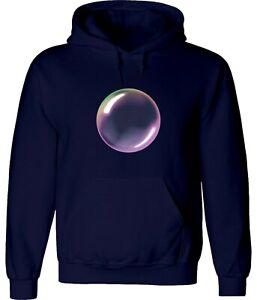 Rainbow Soap Bubble Art Cool Funny Unisex Hoodies Sweatshirts Pullovers