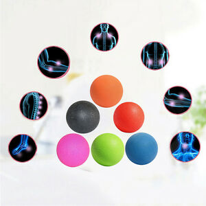 Lacrosse Ball Mobility Myofascial Trigger Point Release Body Massage Ball Fad