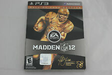 Madden NFL 12 Hall of Fame Edition Sony PlayStation 3 PS3 Used Complete