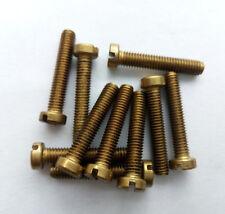 M1.6 M2 3mm-10mm brass bolts cylindrical head screws one slot screw column bolt