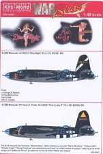 Kits World Decals 1/48 MARTIN B-26 MARAUDER Dina Might & Pink's Lady II