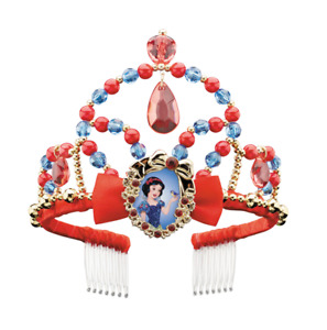 Deluxe Disney Snow White Princess Tiara Girls Womens Costume Accessory