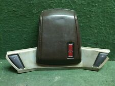 1978 - 1987 Oldsmobile Cutlass Delta 88/98 steering wheel horn button pad Maroon