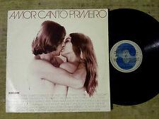 Amor Canto Primero - Roberto Carlos, Chico Buarque, Paulinho Nogueira ...  LP