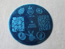 Easter Bunny Egg Theme DIY Manicure Nail Art Stamping Template Image Plate NEW