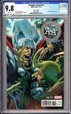 """Avengers Arena #16 CGC 9.8 WP 3858663016 """"""""Thor Battle""""""""Loki  Variant Edition"""