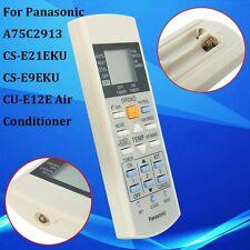 Air Conditioner Remote Control for Panasonic A75C2913 CS-E21EKU CS-E9EKU CU-E12E