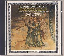 J.S. Bach - Rifkin, Bach Ensemble: Cantatas 140, 51 (L'Oiseau-Lyre) Like New