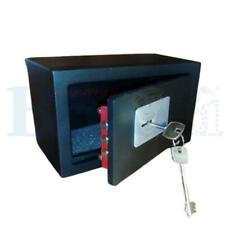 Cassaforte a mobile serratura a chiave da armadio hotel acciaio 7mm 23x13x11 cm