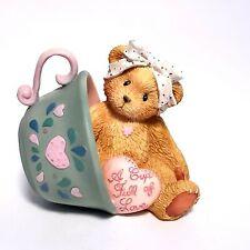 Cherished Teddies #103667 Margaret A Cup Full Of Love Figurine Teacup 94