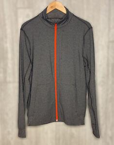 LuLuLemon Men's Gray Zip Up Active Athletic Jacket Size Medium