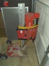 Lot Of 2 Hilti Dd 250e Core Drill Rig And Stand For Parts
