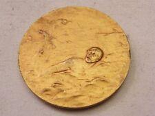 Medaille Bronze golden 6DA fête von 30 9 1922 Schwimmen