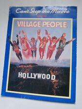 Village People promo folder disco