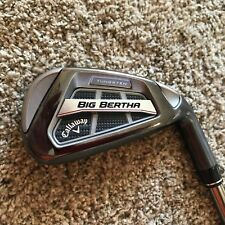 Callaway 2016 Big Bertha OS Irons 5-AW Regular Flex F3 Recoil Graphite Very Good