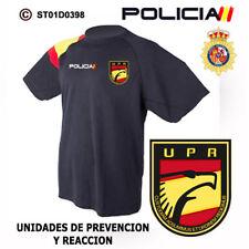 CAMISETAS TECNICAS POLICIA NACIONAL: UPR / UNIDADES DE PREVENCION Y REACCION