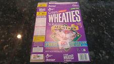 1999 All Stars Edition Thomas Martinez McGwire Crispy Wheaties Flat Box