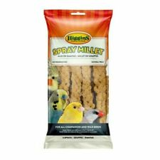 Higgins MILLET SPRAY 6 Piece Bag FRESH Parrots Birds Sealed Food Treat Keet