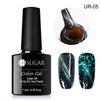 UR SUGAR 7.5ml Nagel Gellack Magnetisch Leuchtend Soak Off UV Gel Nagellack UR05