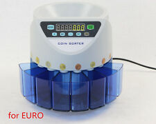 Electronic coin sorter XD-9002 coin counting machine for EURO