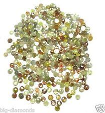 3.00 mm size Natural Real Multi Color Rose Cut Loose Diamond 1 piece from lot