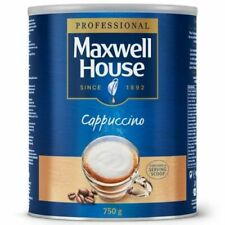 Maxwell House Instant Cappuccino Coffee Large Tin 1 x 750g Capuchino