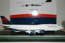 Inflight200/Aviation200 1:200 Delta Airlines Boeing 747-400 N665US (AV2744003)