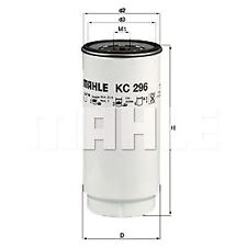Spin-On Oil Fuel Filter - MAHLE KC 296D - HD - Fits DAF Trucks, Buses