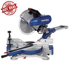 "METABO KGS 305 12"" Dual Bevel Sliding Compound Miter Saw NEW! w/WARRANTY"