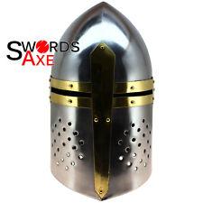 14th Century Medieval Sugarloaf Helmet - Knight Sir Henry Percy Carbon Steel