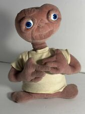 "Vintage 1990s E T the Extra Terrestrial 10"" Plush Stuffed Doll Universal Studios"