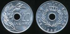 Greece, Kingdom, 1959 20 Lepta - Choice Uncirculated