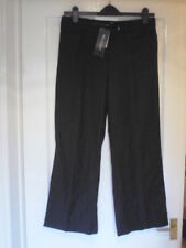 Marks and Spencer Loose Fit High Rise 28L Trousers for Women