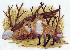 Embroidered Fleece Jacket - Fox Pair D2250 Sizes S - XXL