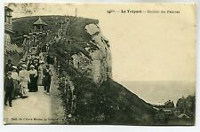 CPA - Carte Postale - France - Le Tréport - Escalier des Falaises - 1913 (SV6943