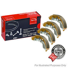 Fits Ford Fiesta MK5 1.25i 16V Genuine OE Quality Apec Rear Brake Shoe Set