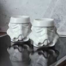 Original Stormtrooper Helmet Espresso Mug Set Cups Gifts Coffee Ceramic