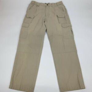 Blackhawk Warrior Wear Tactical Pants 36x32 Khaki Utility Cargo Pockets Men's