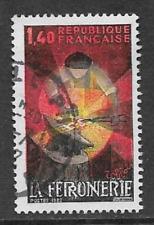 FRANCIA emissione postale commemorativo USATO FRANCOBOLLO 1982 artigianato Iron Works