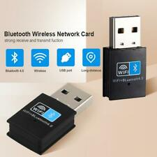 USB Bluetooth 4.0 Adapter Dongle 150Mpbs Wireless WiFi Network With Transmitter